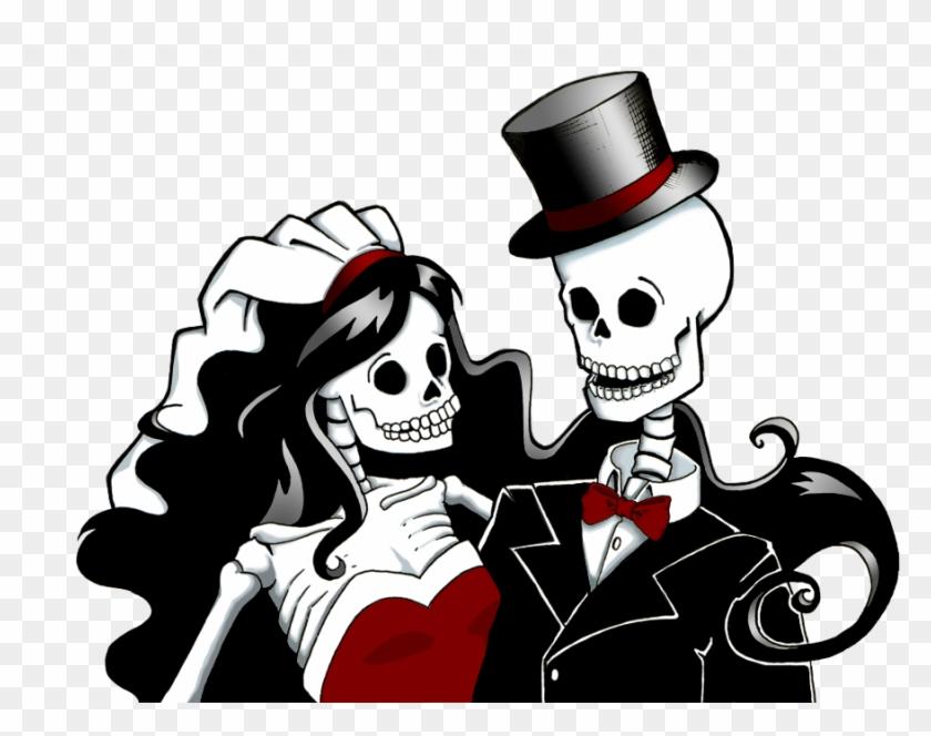Bride Clipart Sugar Skull.