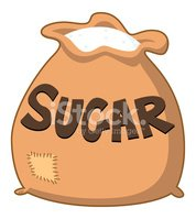 Sugarbag Stock Vector.