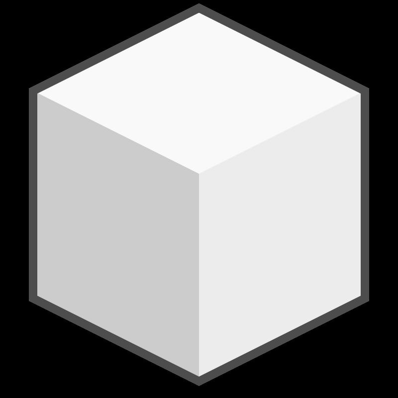 Free Clipart: Sugar Cube icon.