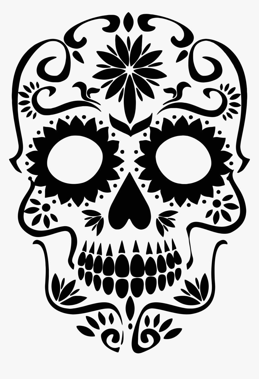 Sugar Skulls Clip Art, HD Png Download.