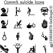 Suicide Clip Art.