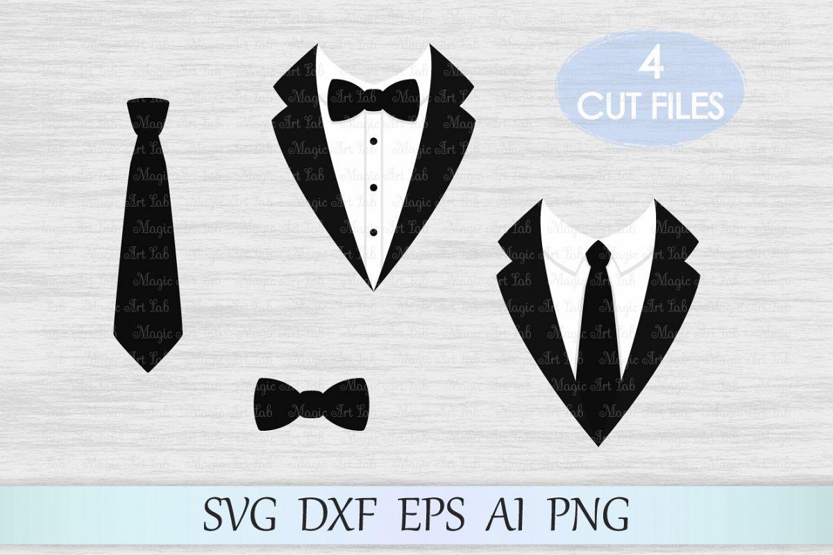 Tuxedo svg, Tuxedo clipart, Suit svg, Suit svg file, Butterfly tie svg, Bow  svg, Gentleman svg, Gentleman design, Tie cut file.