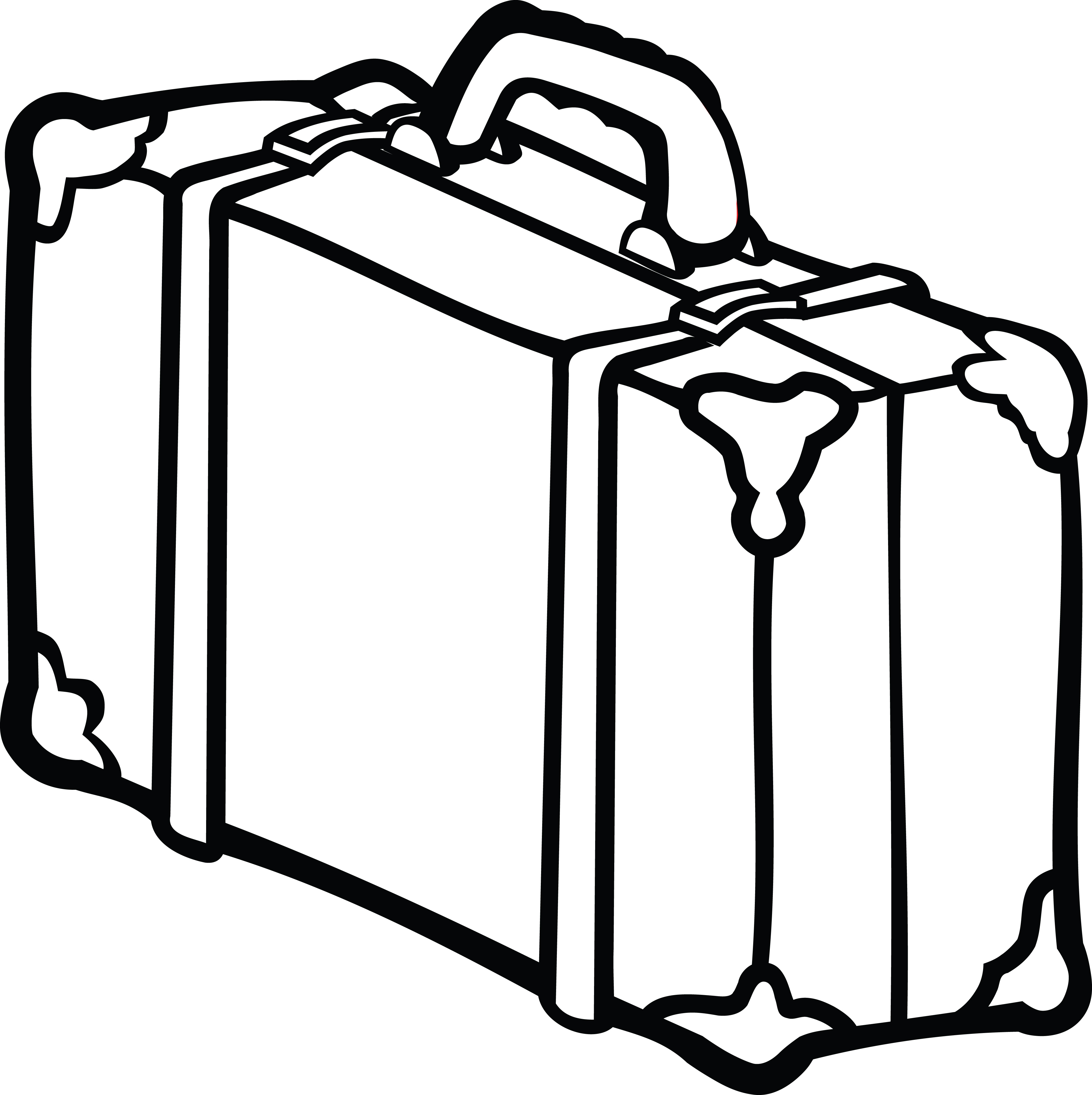 Free Clipart Of A suitcase.