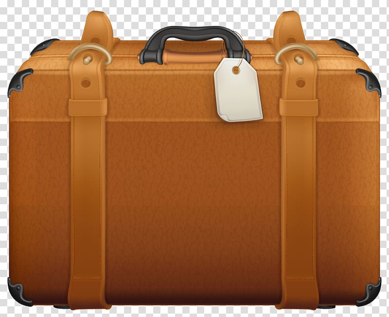 Brown briefcase , Suitcase , Brown Suitcase transparent background.