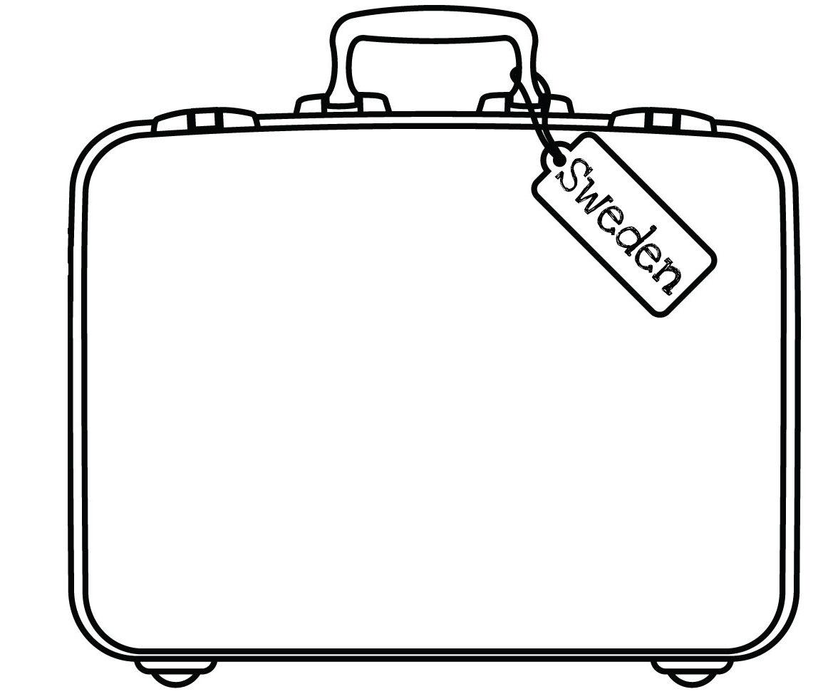 Open suitcase clipart free download clip art 3.