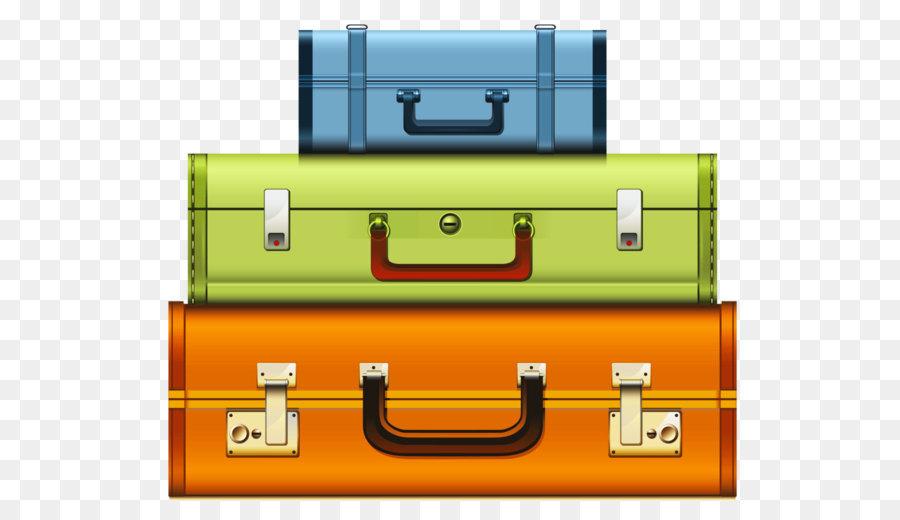 Suitcase Cartoon.
