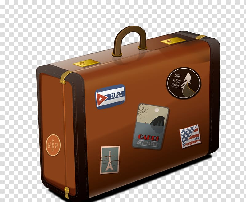 Suitcase Baggage , suitcase transparent background PNG.