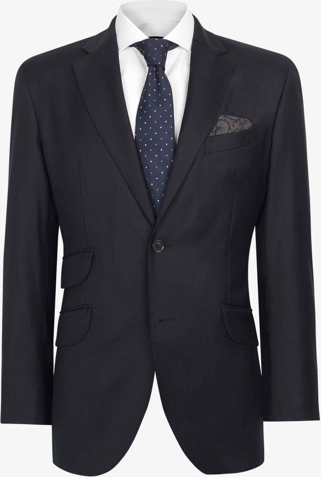 Black Suit, Suit, Black, Black Vector PNG Transparent.