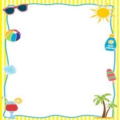 summer page border.