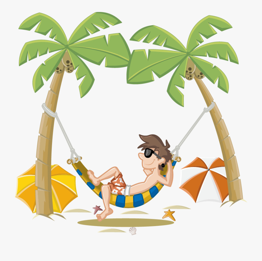Summer Holiday Beach Cartoon Free Photo Png Clipart.