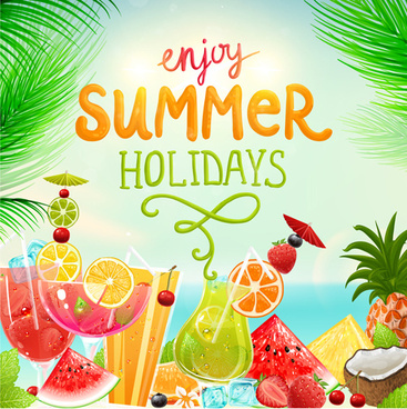 Summer holidays clip art free vector download (220,854 Free vector.
