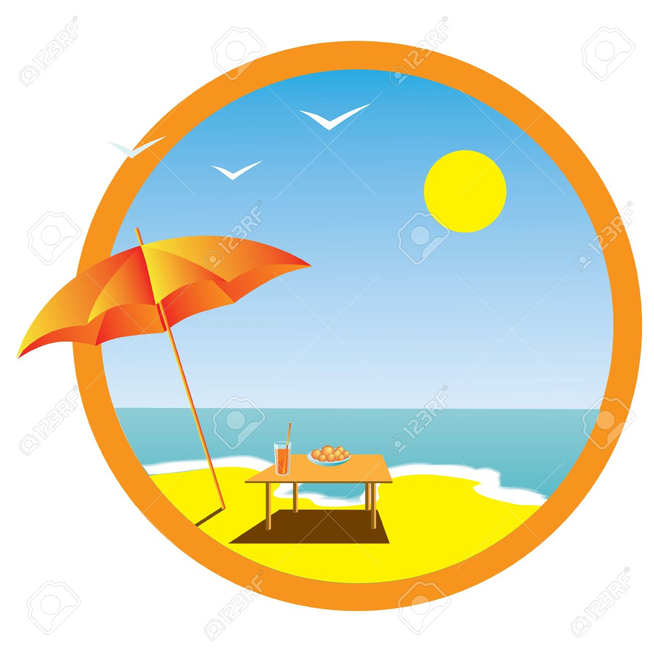 Summer Holiday Clipart.