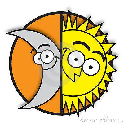 34+ Sun And Moon Clipart.