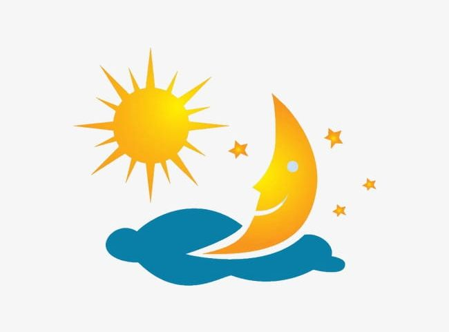 The Sun And The Moon PNG, Clipart, At Night, Day, Moon, Moon Clipart.