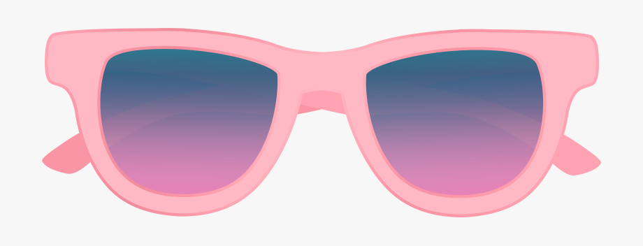 Glasses Clipart Pink.