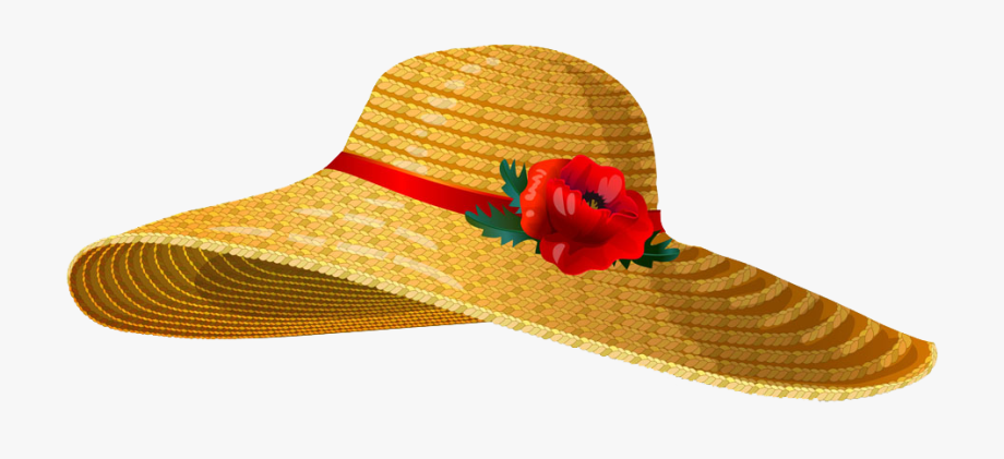 Straw Hat Clipart Canadian.