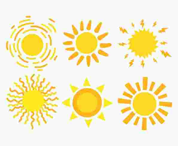 Best Cliparts: Yanked Clipart Sun Sun Clip Art Sun Images.