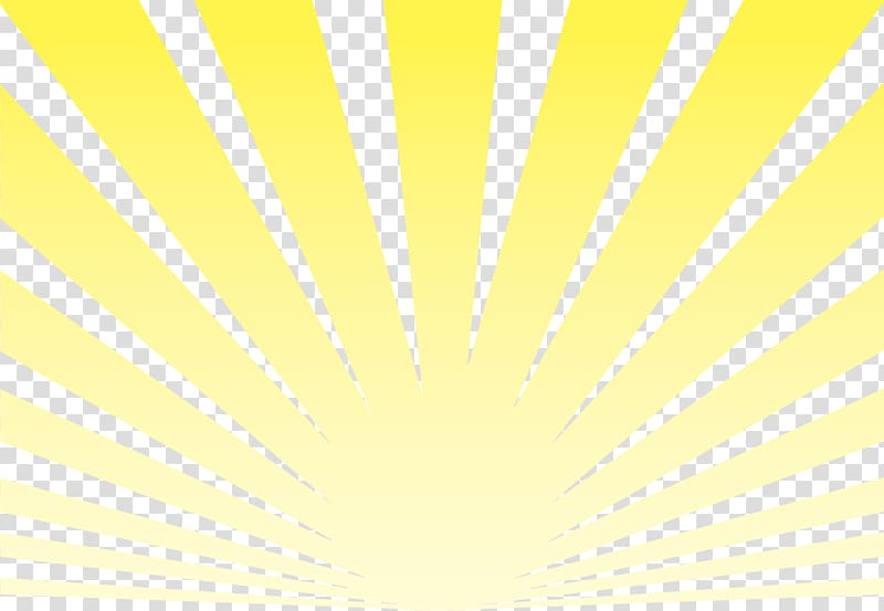 Yellow sun rays , Sunlight Ray, Sun Rays transparent.