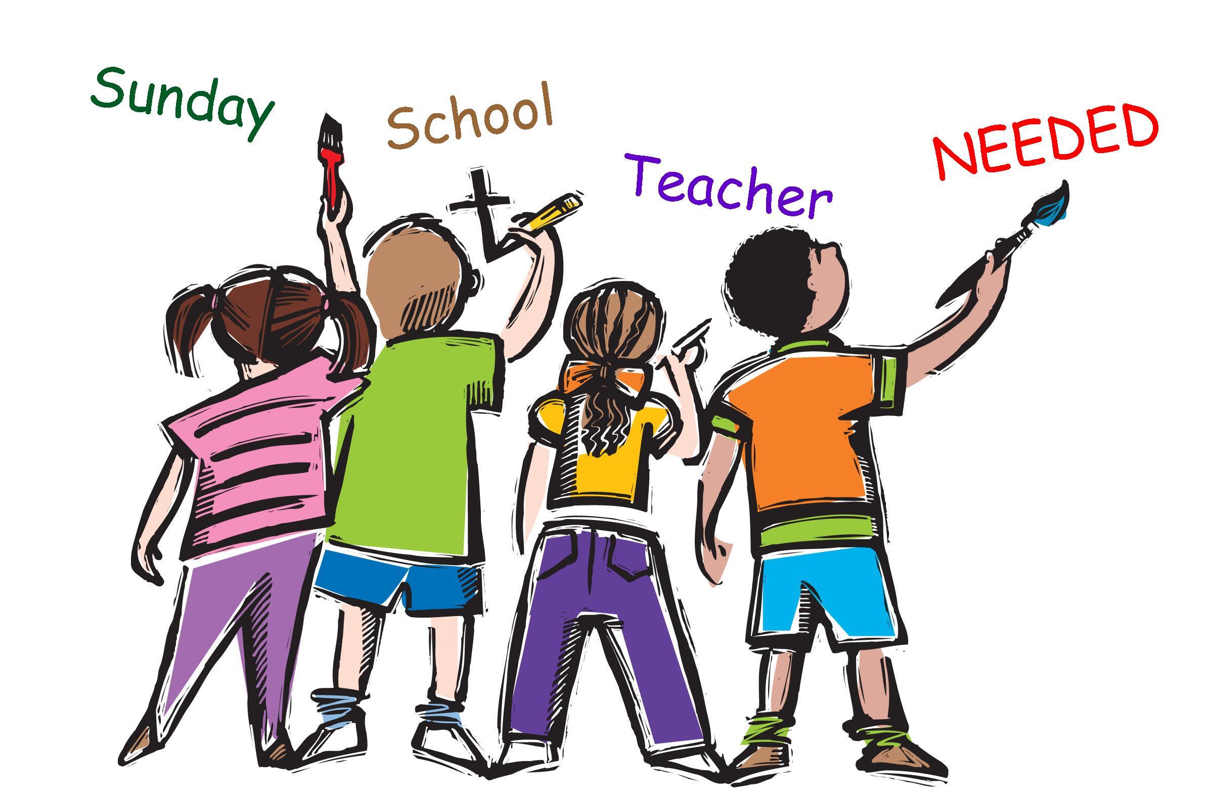 Sunday School Teacher Clipart.