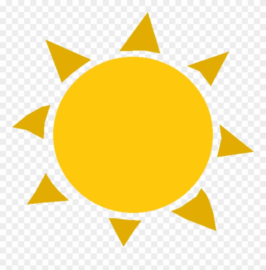 Clipart Of A Sun.