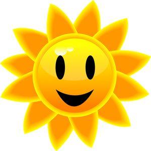 sun clip art.
