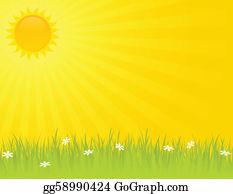 Sunny Day Clip Art.