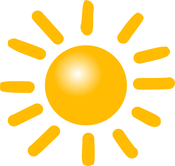 Sunny weather clipart clipart kid.