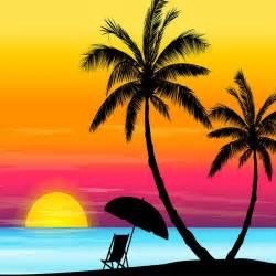 Beach Sunset Clipart & Free Clip Art Images #20984.
