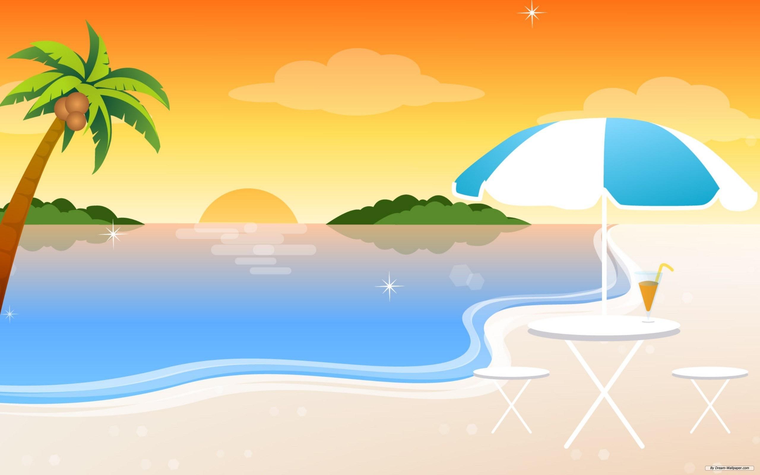 Sunset beach clipart 5 » Clipart Portal.