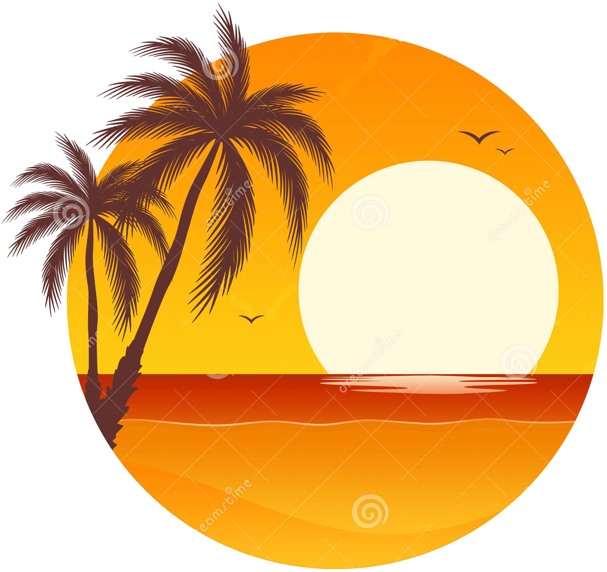 Beach Sunset Clipart at GetDrawings.com.