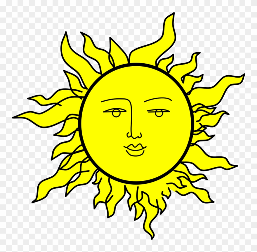 Clipart Sunshine Cartoon.