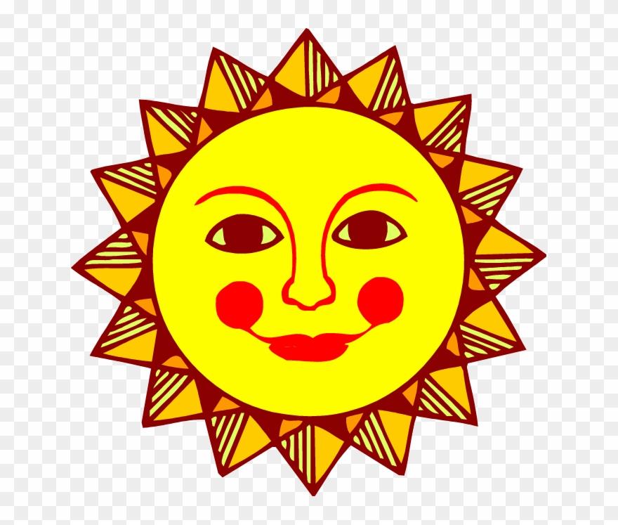 Sun Face Clip Art Sun Clipart Pictures Images Free.