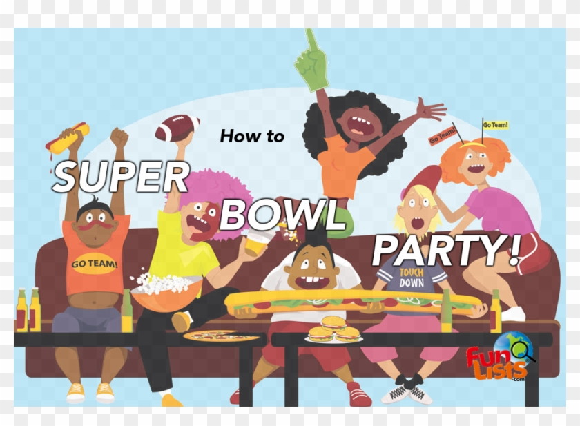 How To Super Bowl Party.