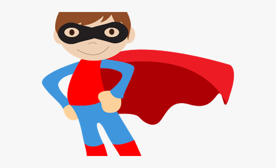 Kid Superhero Clipart.
