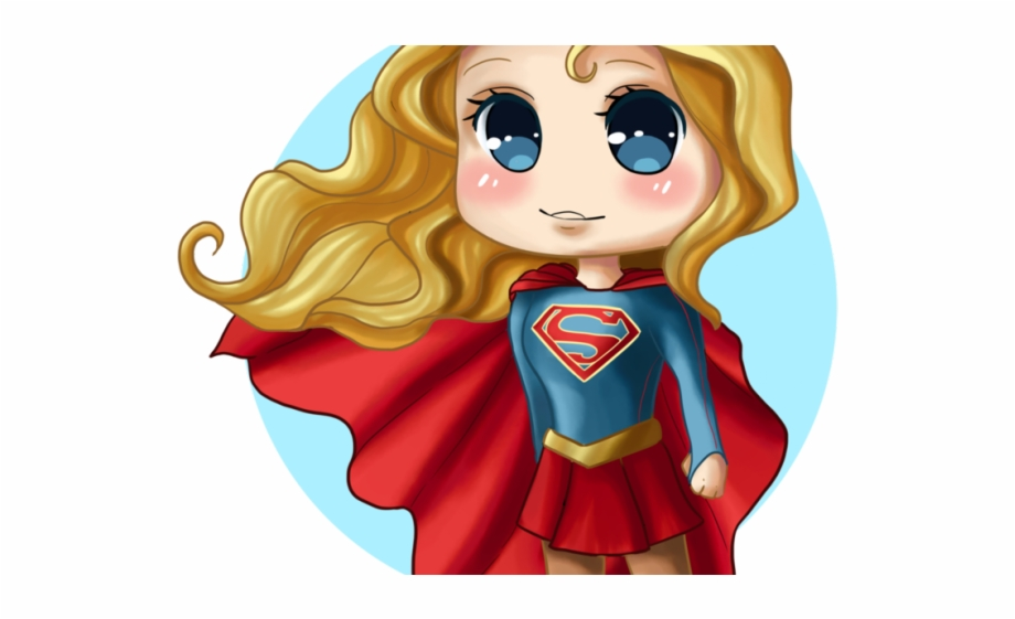 Chibi Clipart Superhero.