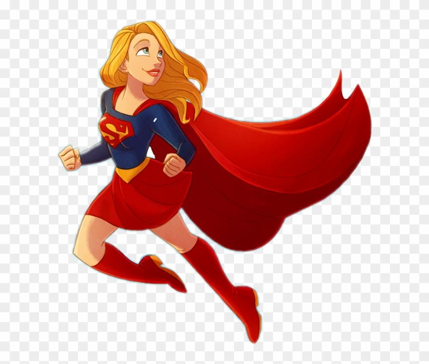 Supergirl Superhero Superpower Girlpower.