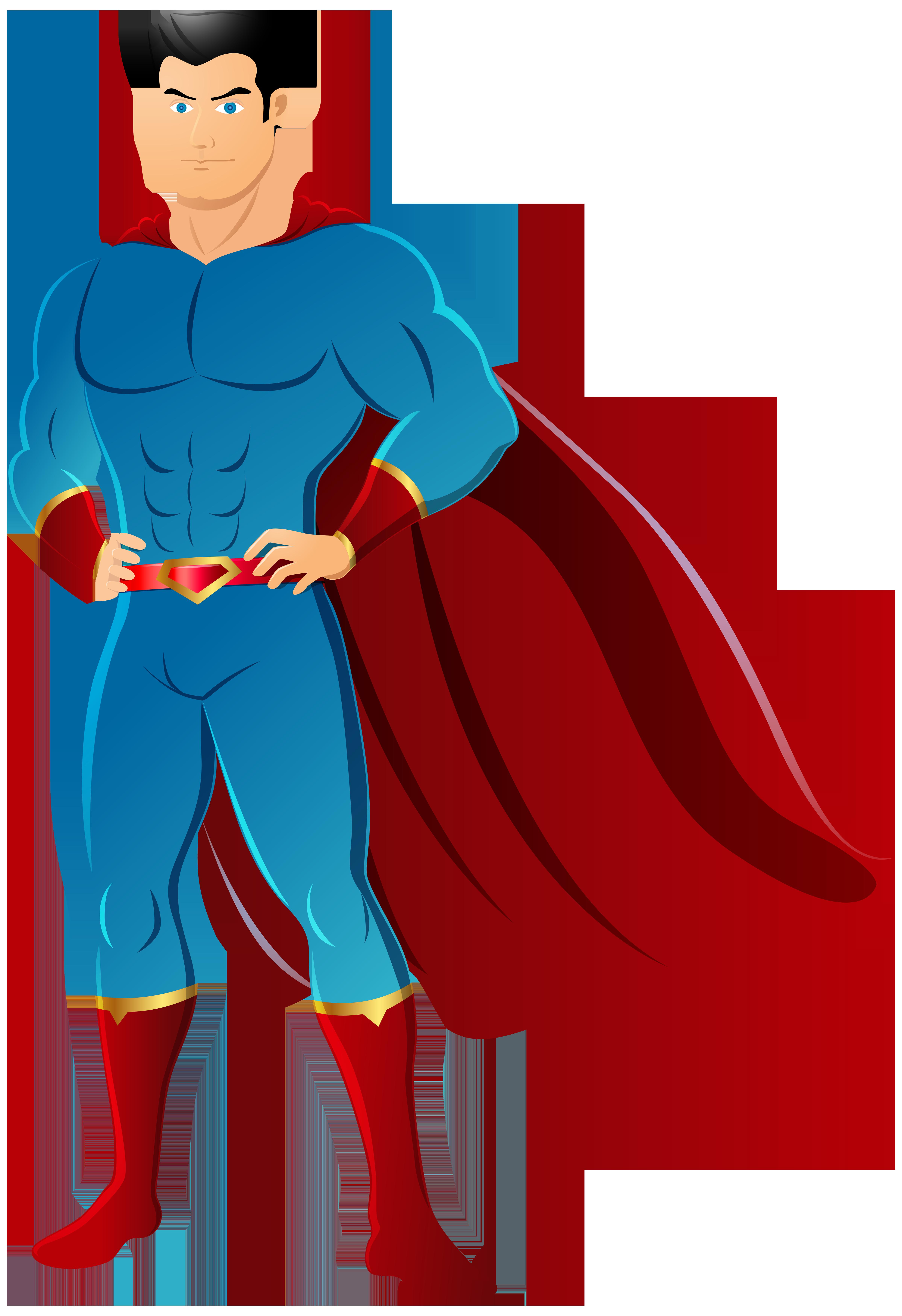 Superhero Transparent PNG Clip Art Image.