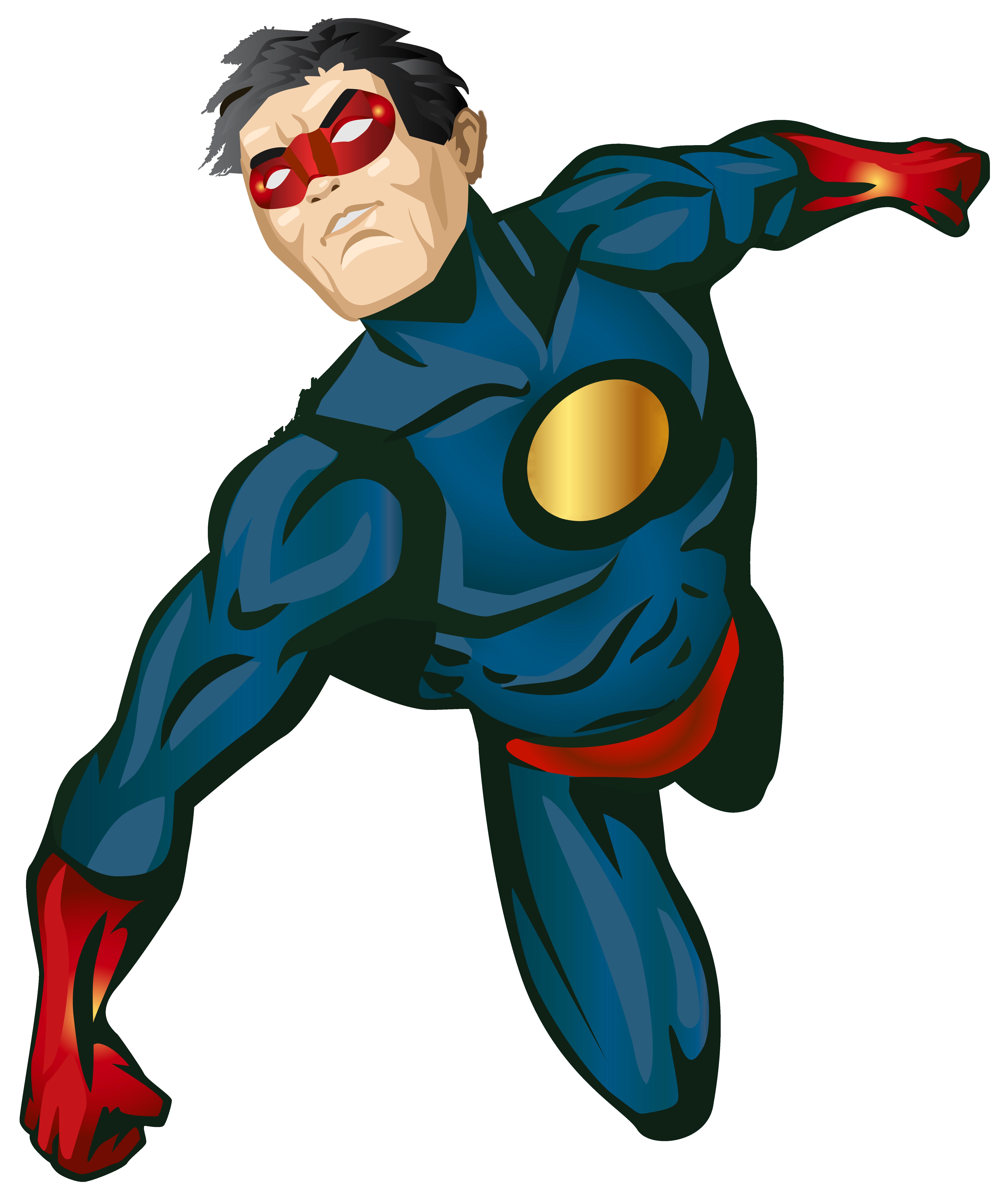 Super Hero PNG Clip Art.