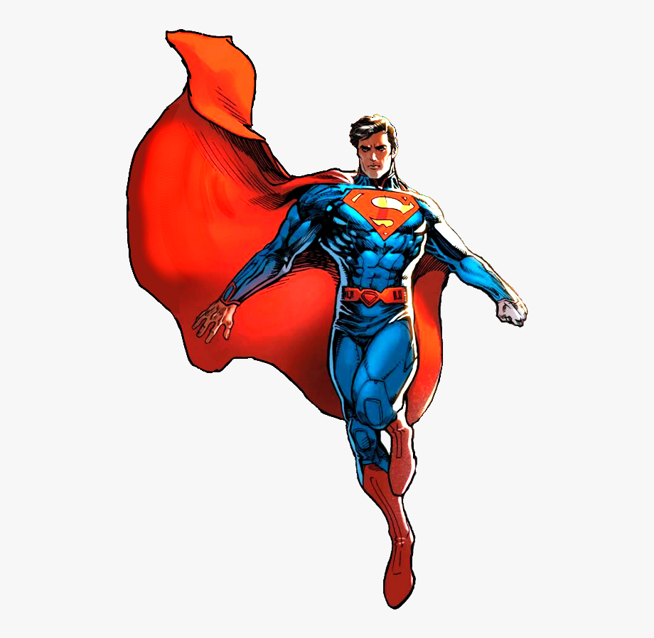 Superman Flying Clipart.