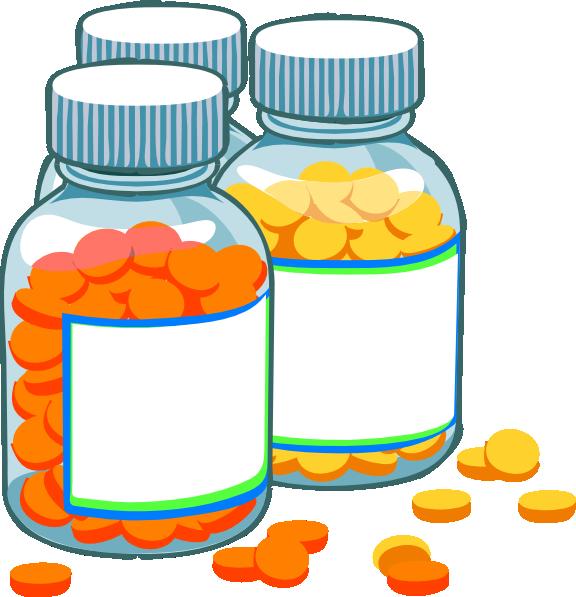 Medicine Bottle Clip Art Free.