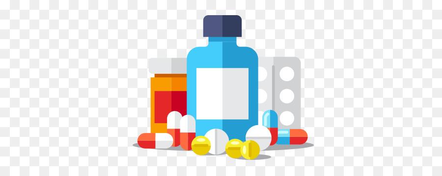 vector illustration vitamin pills vs natural clipart Dietary.