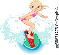 Surfer Clip Art.