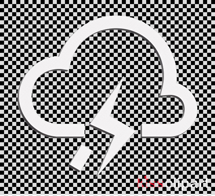 forecast icon rainy icon thunder icon clipart.