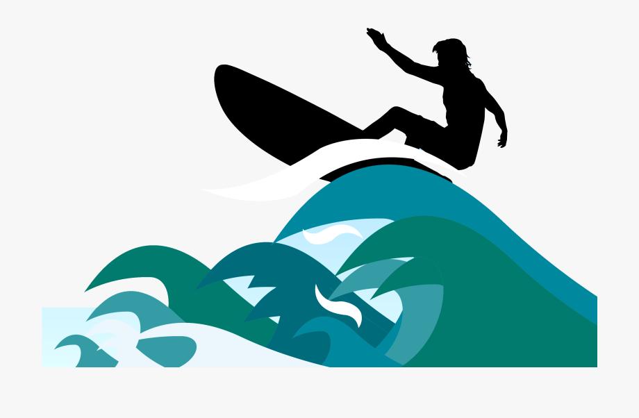 Surfing Surfboard Clip Art.