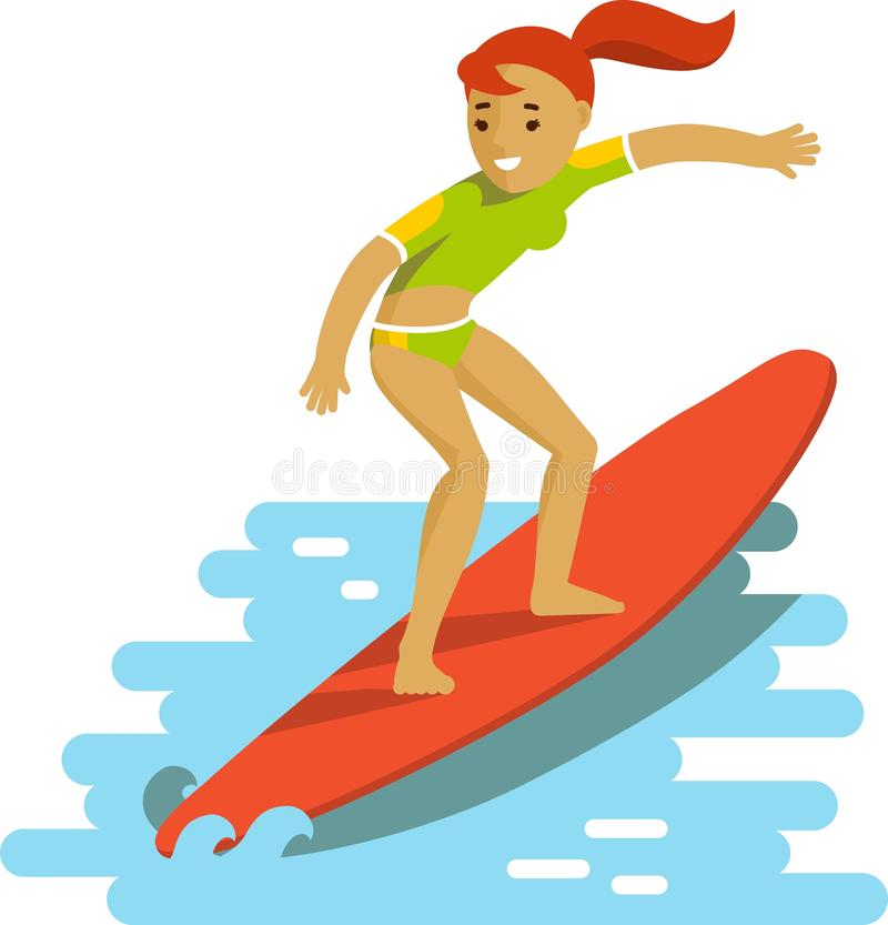 312 Surfer free clipart.