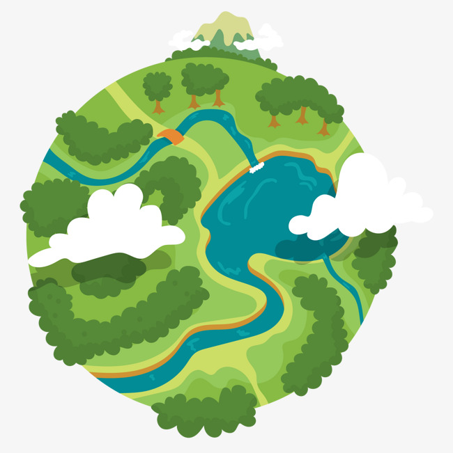 Surface Of The Earth Clipart.