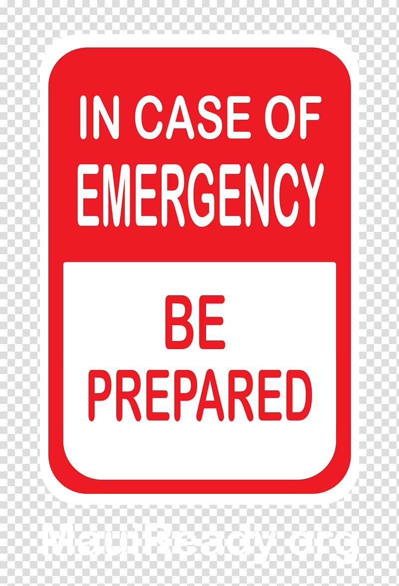 Emergency management Survival kit Disaster Preparedness.