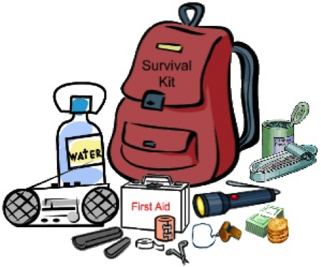 survival kit drawing clipart Survival kit Drawing Clip art.