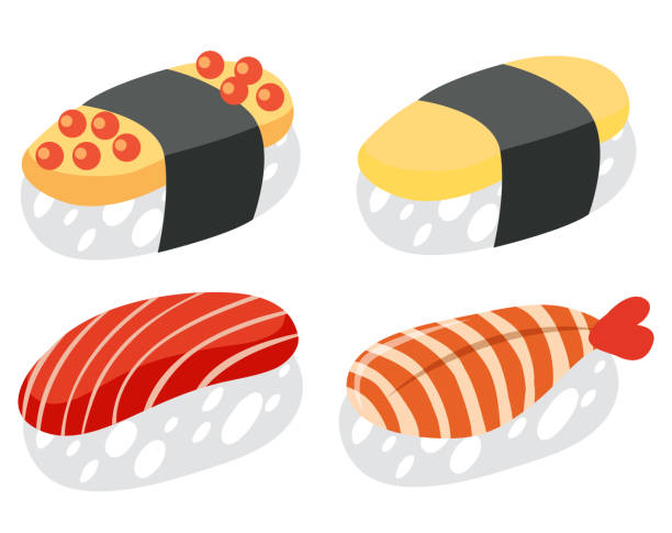 Top 60 Sushi Clipart Pictures Clip Art Vector Graphics And Regular.