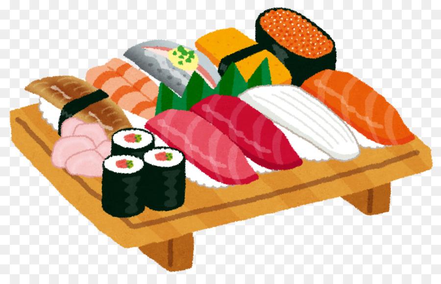 Sushi Cartoon clipart.